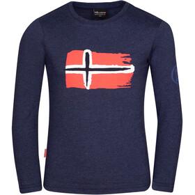 TROLLKIDS Oslo Longsleeve Shirt Kids navy